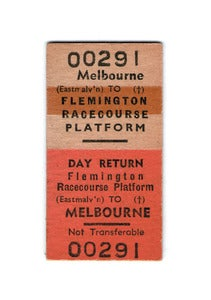 Image of Flemington Racecourse Greeting Card &amp; Envelope