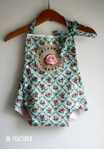 Image of Baby Romper with Snaps