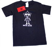 Image of Kids Chingo Robot shirt (on black)