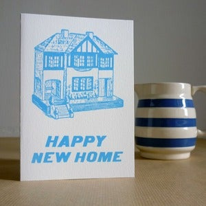 Image of Happy New Home card