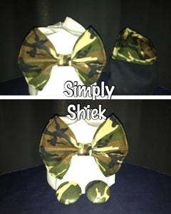 Image of Army Fatigue Bow Tie