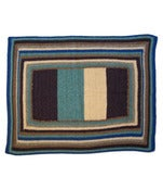 Image of English Weather Stripe Cashmere Baby Blanket