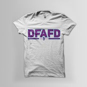 Image of DFAFD Tee (Turquoise/Purple)