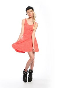 Image of Bitching and Junkfood &quot;Kujukuri&quot; Dress - Orange Summer Dress