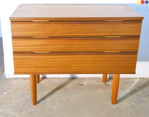 Image of COMMODE SCANDINAVE EN TECK ANNES 60 - REF.1276