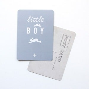 "Image of Carte Postale ""little BOY"""