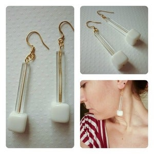 Image of RetroGeometric Earrings / Orecchini 1
