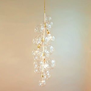 Image of Tall Bubble Chandelier