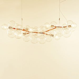 Image of Long Bubble Chandelier