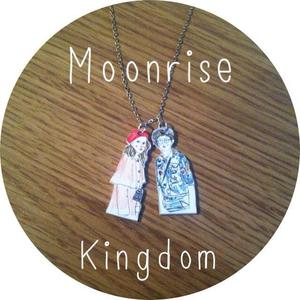 Image of Moonrise Kingdom Double Charm Necklace