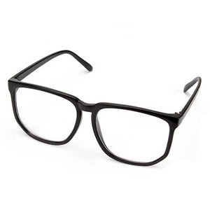 Image of Oversized Glasses - Black