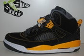 Image of Air Jordan Spizike Black/University Gold