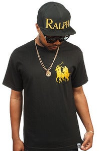 Image of Polo Assassin Tee black