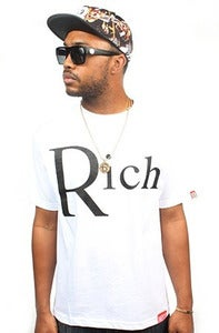 Image of Rich white tee