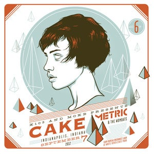 Image of CAKE - With Metric &amp; the Wombats - Indianapolis