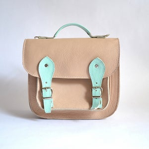 Image of Bag #3 leather small satchel