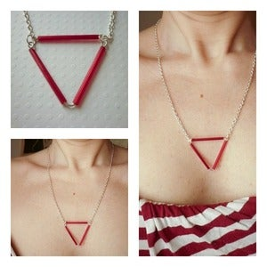 Image of RetroGeometric Necklace / Collana 9
