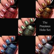 Image of The Precious Holo Collection 5 Piece Set FREE SHIPPING