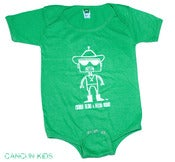 Image of Chingo Robot Onesie (green)