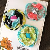 Image of posy hair clips - 29