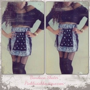 Image of Bandana Skater skirt