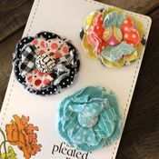 Image of posy hair clips - 36