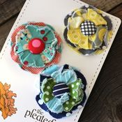 Image of posy hair clips - 7