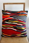 Image of Red Valleys Cushion - Lanscapes Collection