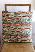 Image of Northern Rivulets Cushion - Lanscapes Collection