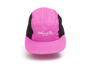"Image of Chari & Co ""MESH RIPSTOP 5PANEL CAP"" / Pink"