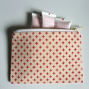 Image of Addy Canvas Zippy Pouch