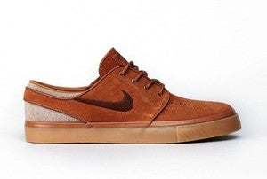 "Image of NIKE SB Stefan Janoski ""british tan"""