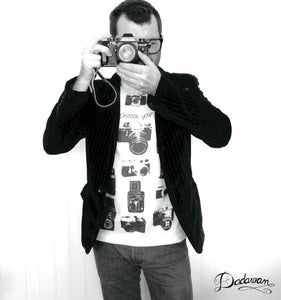 Image of T-shirt homme Vintage cameras - Choose your weapon by Dadawan