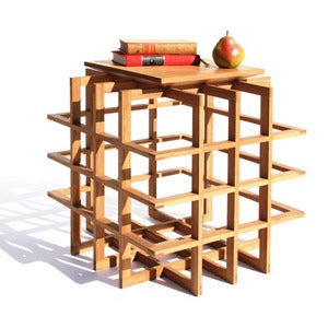 Image of Quadrat Cube 20 Side Table