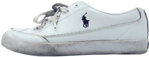 Image of Polo Ralph Lauren Leather Shoes Size UK 9.5