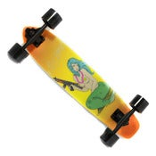 Image of STILL HOOD - Smokin' Mermaid Skateboard