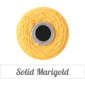 Image of Solid Marigold Twine Spool - 240 yards