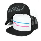 Image of STILL HOOD Line Hat - Neon Pink & Blue