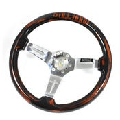 Image of STILL HOOD X GRIP ROYAL Beat & Battered Steering Wheel