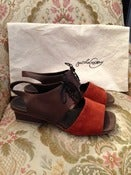 Image of Rachel Comey Lace Up Slingback Sz. 6