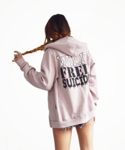 Image of WILD FREE SUICIDE HOODIE