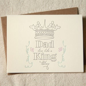 Image of King Dad Father's Day