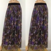 Image of Purple Rose Skirt
