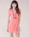 Image of Floral Lace Mini Dress