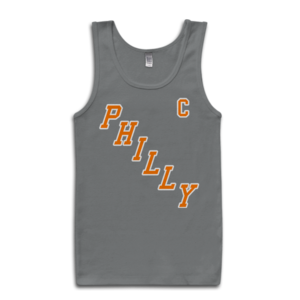 Image of Philly Captain Tank-Top (Grey)