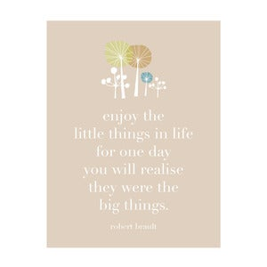Image of The little things.....Art Print