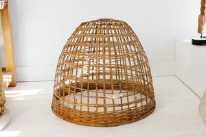 Image of Bamboo Cloche Light Shade - 50cm