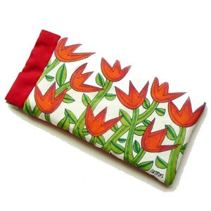 Image of Sunnies / Specs Pouch - Tiptoe Through The Tulips