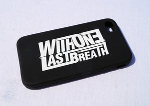 Image of With One Last Breath Iphone 4 case