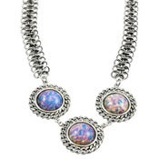 Image of Viv Necklace-Pink Opal